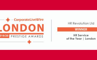 WINNER – HR SERVICE OF THE YEAR – LONDON
