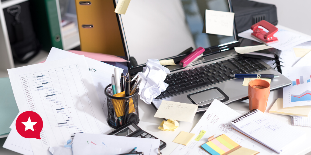 The Benefits Of Keeping Your Office Desk Clean