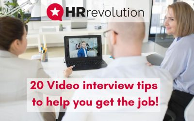 20 Video interview tips to help you make a great impression and get the job!