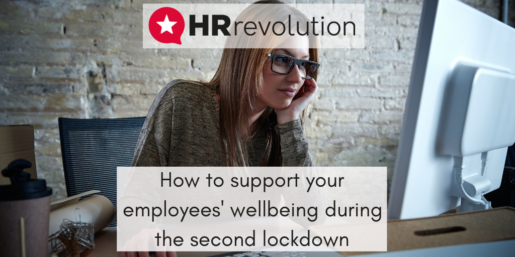 How to support your employees' wellbeing during the second lockdown