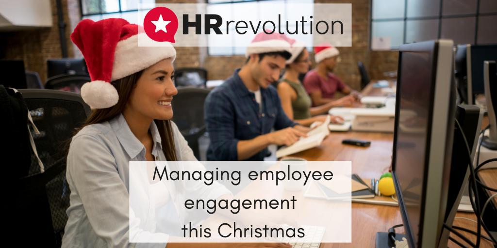 Managing employee engagement this Christmas