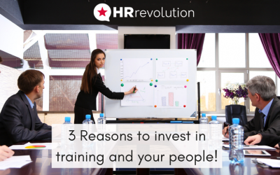 3 Reasons to invest in training and your people!