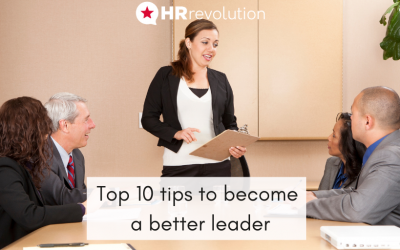 Top 10 tips to become a better leader