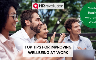 Top Tips For Improving Wellbeing At Work