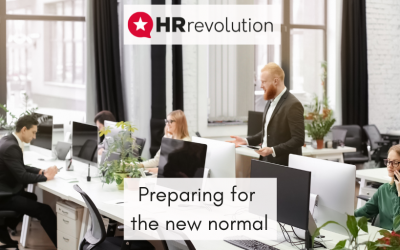Preparing for the new normal