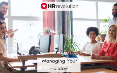 Managing Your Holiday!