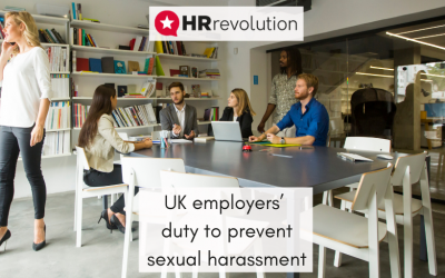 UK employers' duty to prevent sexual harassment