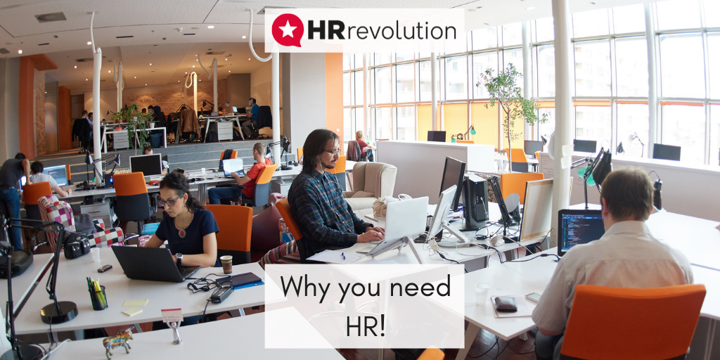 Why you need HR!